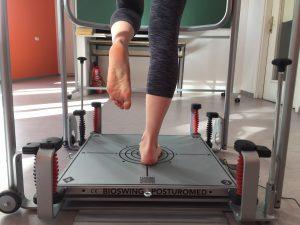 Uspjeh testiranja posturalne stabilnosti